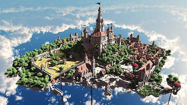 Terados Castle Minecraft Dorfideen