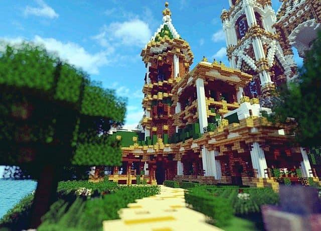 Der Palast von Daibahr bouiyait minecraft, der Ideen Turm 13 baut