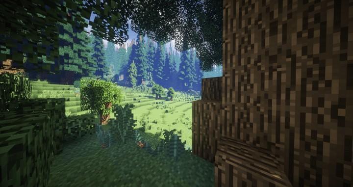 Hiraen 2k x 2k Gelände hohe Kiefern benutzerdefinierte erstaunliche Minecraft Bau Ideen Welt Maler Welt Maschine 5