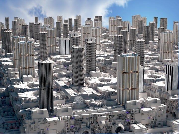 Galaktische Stadt (Coruscant)   Krieg der Sterne