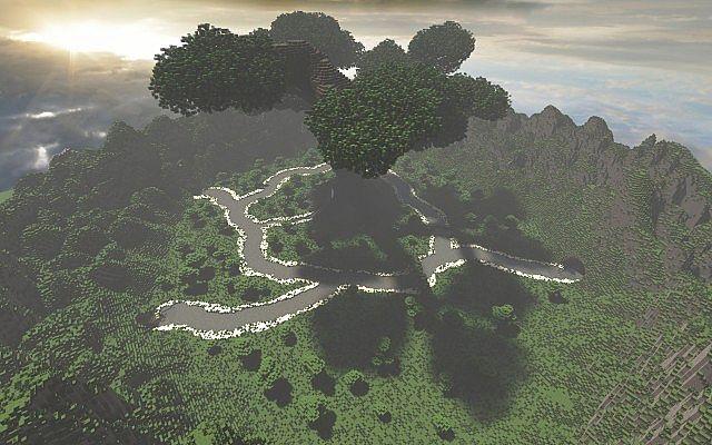 Mystischer Baum | Benutzerdefiniertes Gelände + Großer benutzerdefinierter Baum