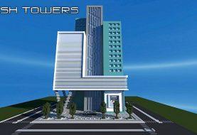 Spritztürme - moderner Wolkenkratzer