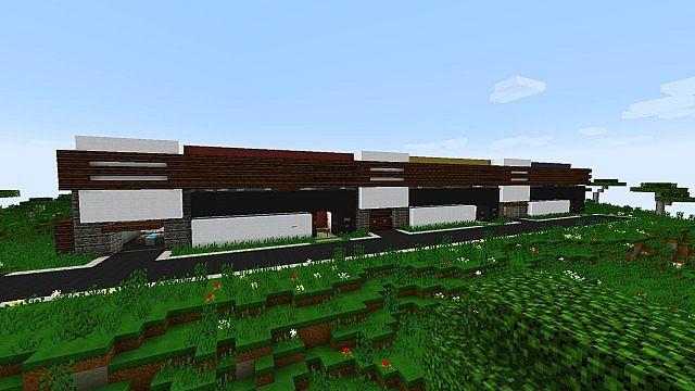 De Stijl 3 Suburban Alluvium Moderne Seaside Townhouses Minecraft 2