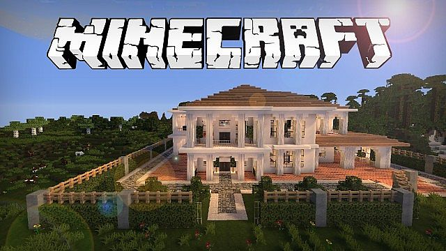 Minecraft House Hollywood Style gebaut