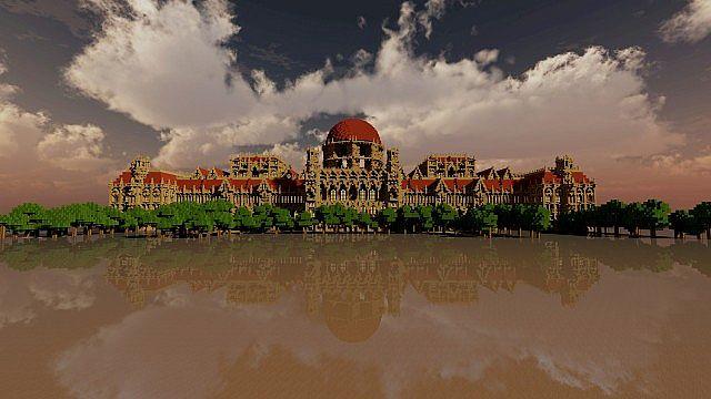 Ceretien Palace Minecraft Schloss 2