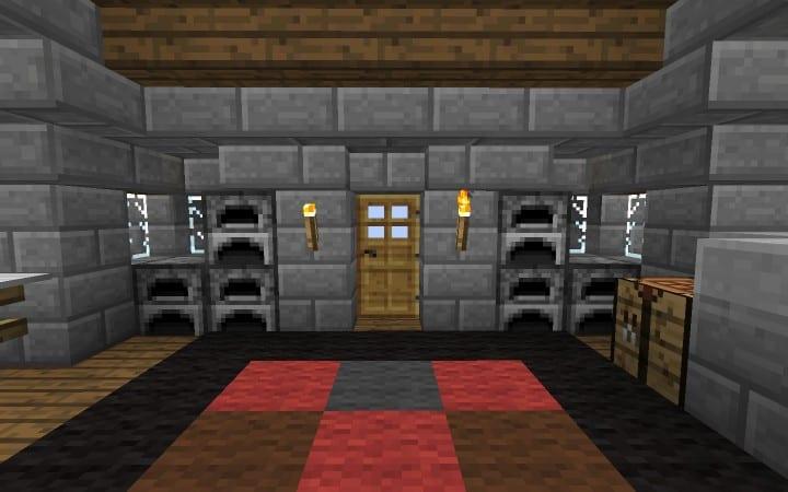 Überleben Haus Anleitung wie man billige Minecraft Gebäude Ideen Holz und Stein 10