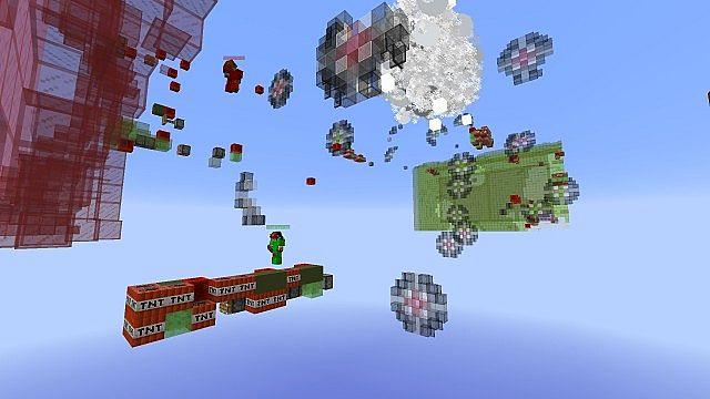 Missile Wars Mini Game für 1.8.1 Minecraft Bauideen 7