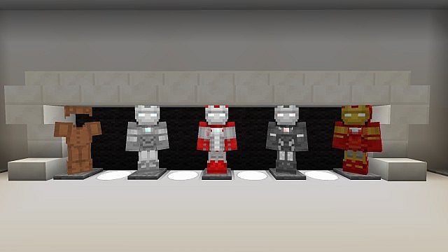 Iron Man 2 Textur Resource Pack 2.1 Minecraft 3