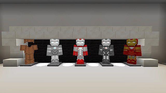 Iron Man 2 Textur Resource Pack 2.1 Minecraft 3