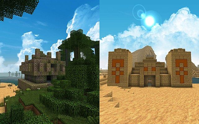 Halcyon Tage Resource Pack Minecraft Textur 6