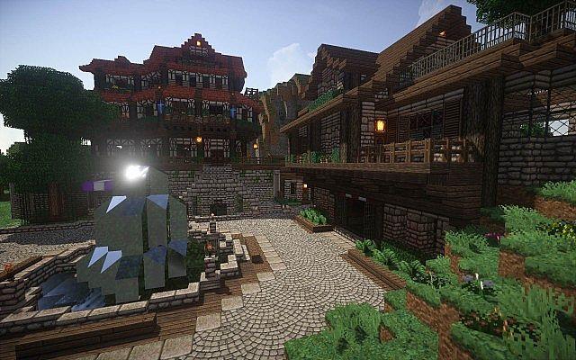 Halcyon Days Ressourcenpaket Minecraft Textur 11
