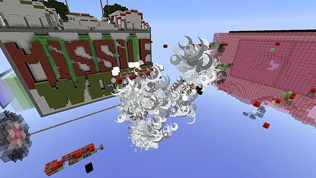 Missile Wars Mini Game für 1.8.1 Minecraft Bauideen 12