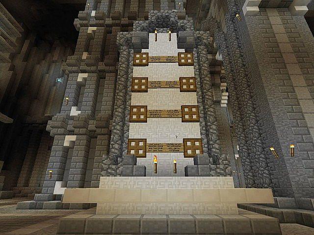 Mittelalterliche Burg und Dorf Minecraft Bauideen 8