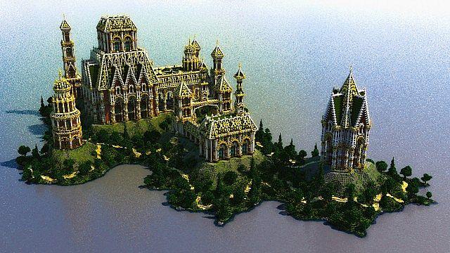 Der Palast von Daibahr bouiyait minecraft Gebäudeideen ragen 3 hoch
