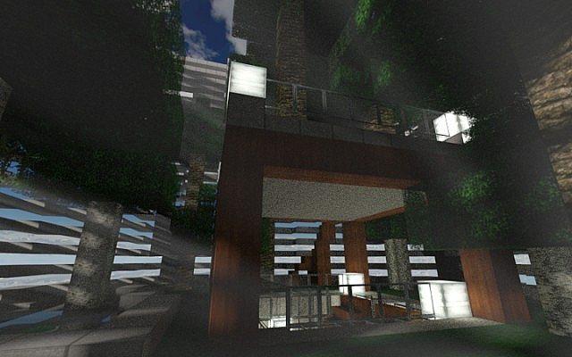 Verdrehender Turm minecraft Stadtideen, die 5 errichten