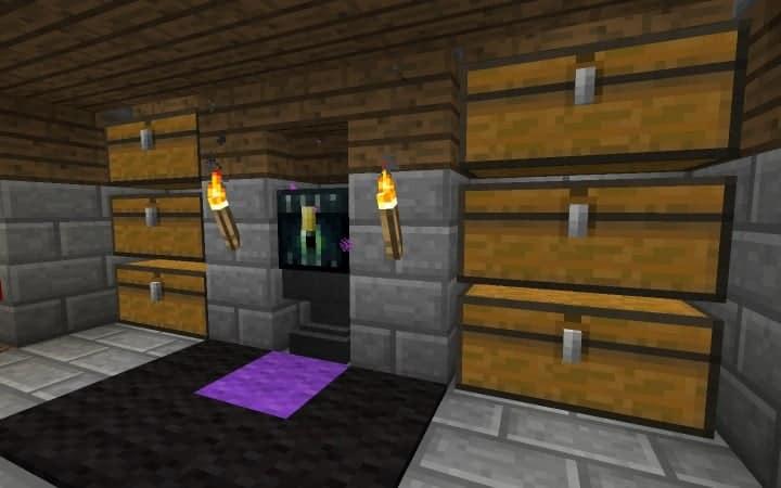 Überleben Haus Anleitung wie man billige Minecraft Gebäude Ideen Holz und Stein 15