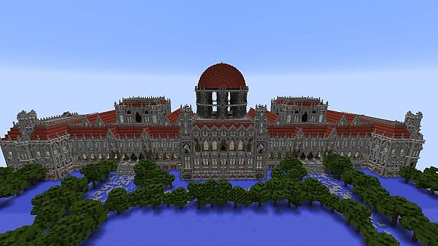 Ceretien Palace Minecraft Schloss 3