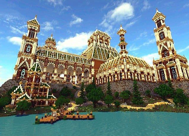 Der Palast von Daibahr bouiyait minecraft, der Ideen 5 baut
