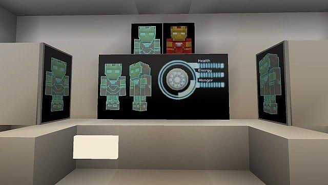 Iron Man 2 Textur Resource Pack 2.1 Minecraft 4
