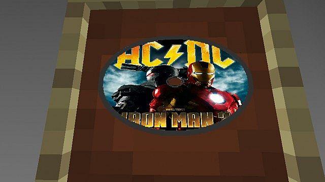 Iron Man 2 Textur Resource Pack 2.1 Minecraft 10