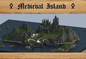 Mittelalterliche Insel