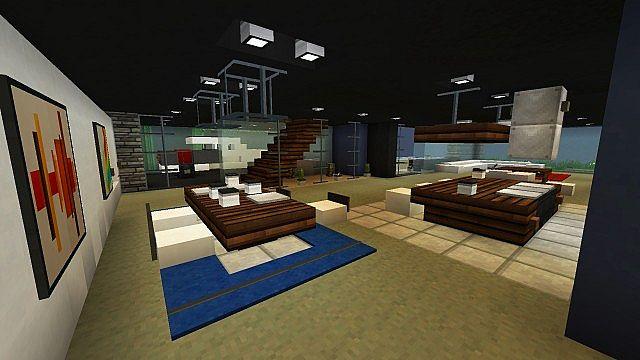 De Stijl 3 Suburban Alluvium Moderne Seaside Townhouses Minecraft 5