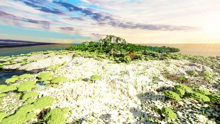 Der Ursprung landet Zorilak von Dasgnir Custom Terrain 8k von 8k Weltinseln 17