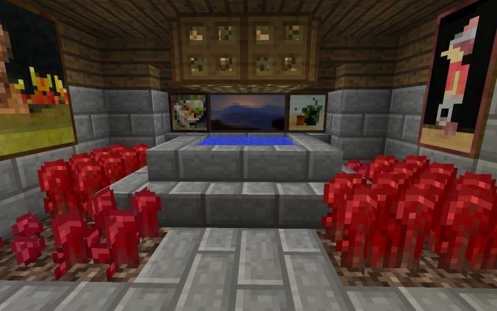 Survival House Tutorial Wie man billige Minecraft Bauideen Holz und Stein 17