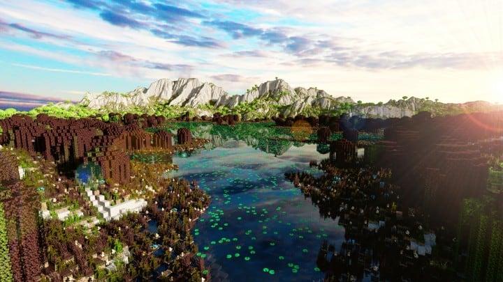 Der Ursprung landet Zorilak von Dasgnir-Gelände 8k von 8k Weltinseln 15