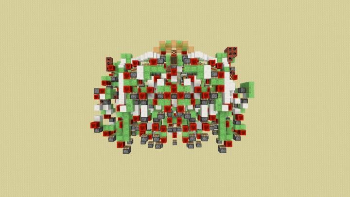 Colossus - Kontrollierbarer Angriffsroboter No Command Blocks minecraft building ideas erstaunlich 6