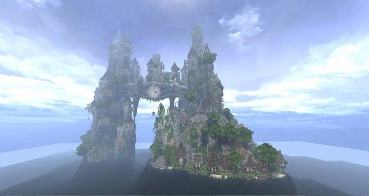 Clockwork Isle Minecraft Schlossaufbauideen 2