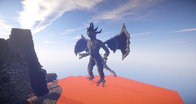 Eine Reise durch die Hölle Minecraft building ideas castle 7