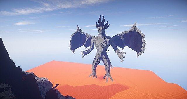 Eine Reise durch die Hölle Minecraft building ideas castle 6