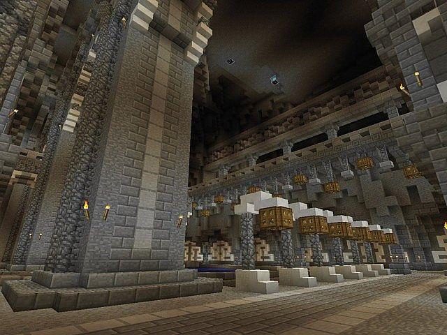 Mittelalterliche Burg und Dorf minecraft building ideas 7
