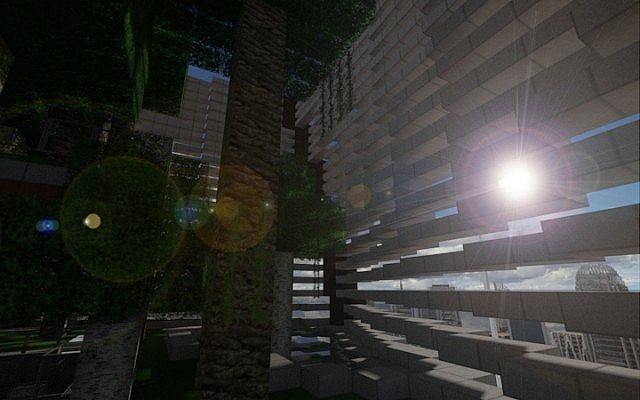 Twisting Tower minecraft Stadt Ideen Gebäude 4