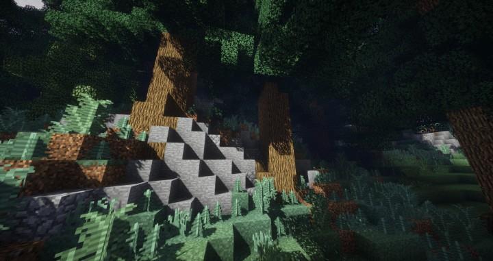 Hiraen 2k x 2k Gelände hohe Kiefern benutzerdefinierte erstaunliche Minecraft Bau Ideen Welt Maler Welt Maschine 4
