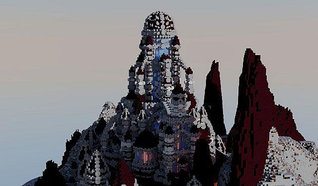 Eine Reise durch die Hölle Minecraft building ideas castle 4