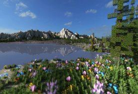 Gebirgstal Wiese | Ultra realistisches Gelände