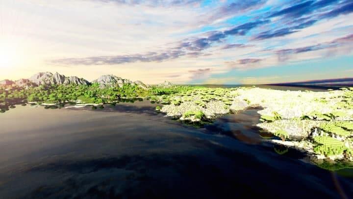 Der Ursprung landet Zorilak von Dasgnir Custom Terrain 8k von 8k World Islands 19