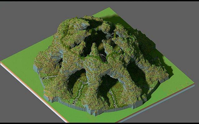 Huevo Kundenspezifisches Gelände Organische Eiinsel große Gebäudeideen minecraft 4