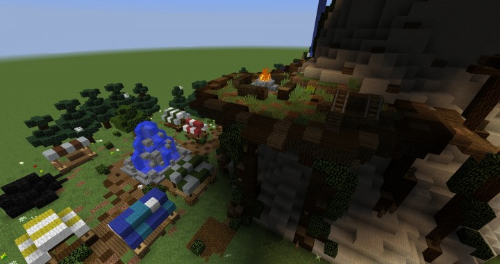 Giant Fantasy Mushroom Minecraft Gebäude Ideen Download Inspiration 6