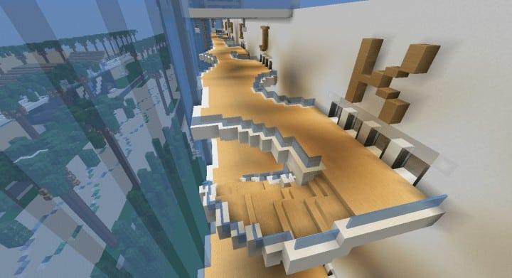 Alleron Convention Center Alleron City Minecraft Gebäude Ideen erstaunliche Büro Stadt Glas Phantasie 11