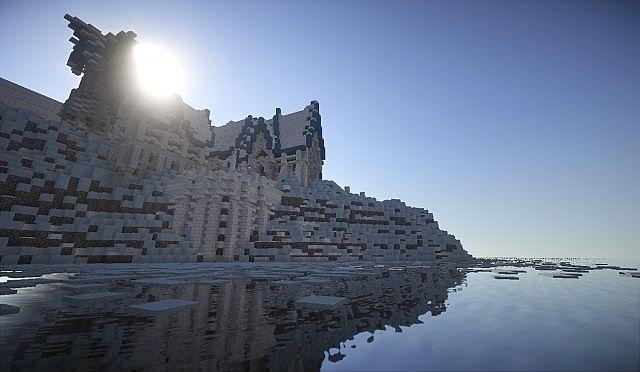 Elven City of Lothariel Minecraft Schlossbau Ideen 5