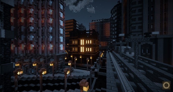 Gotham City | Batman - Minecraft Welt
