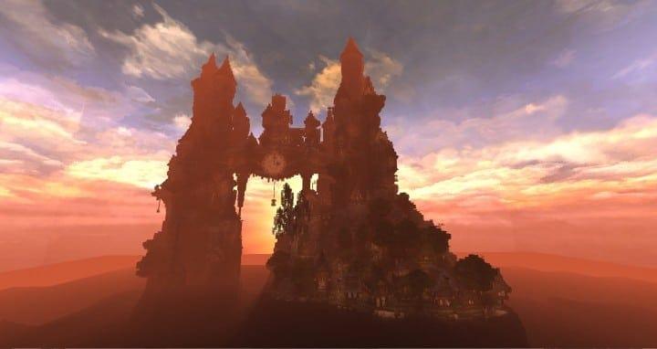 Clockwork Isle Minecraft Schlossgebäude Ideen 3