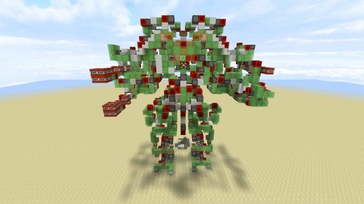 Koloss   Steuerbarer Angriffsroboter   Keine Befehlsblöcke