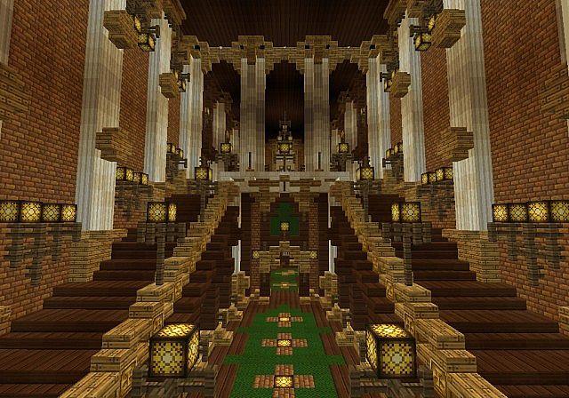 Der Palast von Daibahr bouiyait minecraft, das Ideenturm 14 errichtet