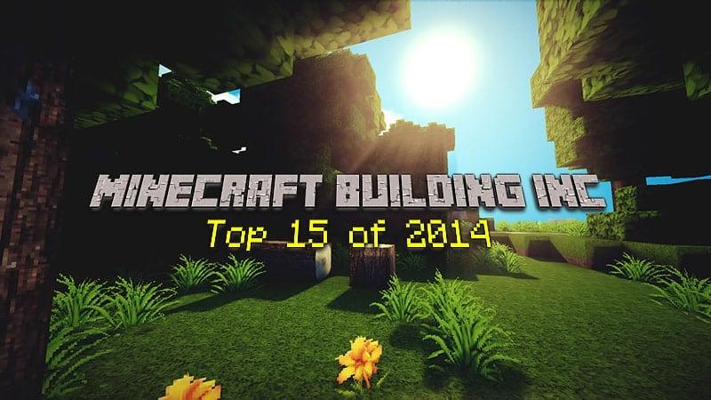 Top 15 Minecraft Gebäude von 2014