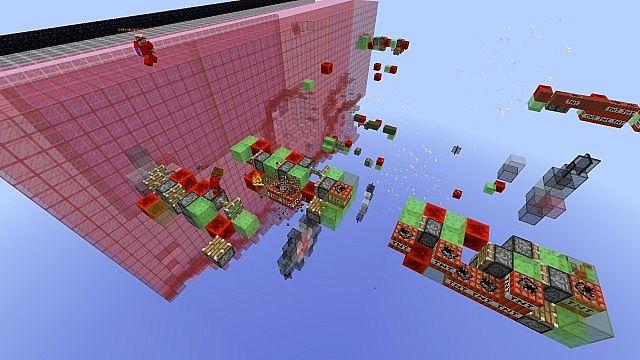 Missile Wars Mini Game für 1.8.1 Minecraft Bauideen 9