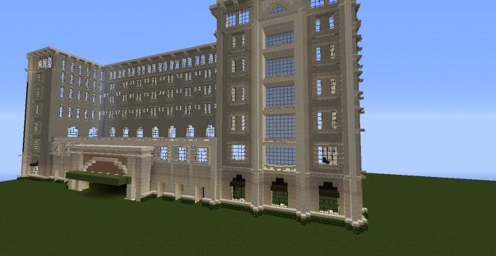 Die Grand Peninsula Hotel 1920er Jahre Minecraft Gebäude Download speichern 6